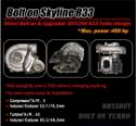 Bilde av Nissan Skyline R33 - Bolt on turbolader 450hk.