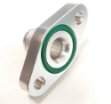 Bilde av Returflens AN10 tilkobling - 51mm. - Med O-ringspakning