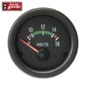 Bilde av Autogauge voltmeter - Svart