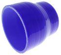 """Bilde av 2.5"""" til 3"""" / 63.5 mm. til 76.2mm. - Silikonreduksjon - Blå"""