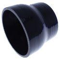"""Bilde av 2.5"""" til 3"""" / 63.5 mm. til 76.2 mm.  - Silikonreduksjon - Svart"""