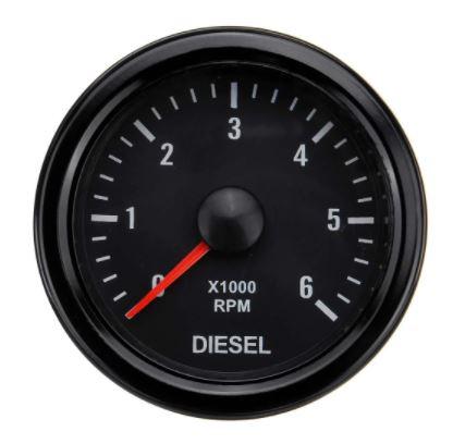 Bilde av Turteller - svart - 52 mm. - Diesel