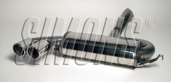 Bilde av Audi S2/80/90 coupe Quattro 162kW/169kW-Simons Catback