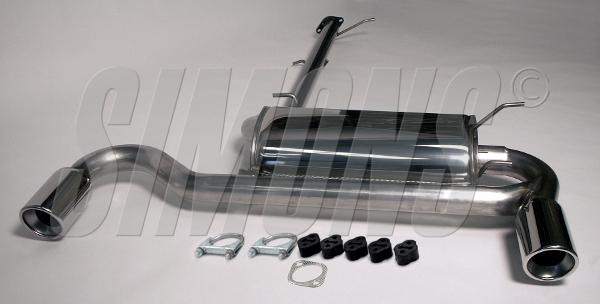 Bilde av Mazda MX-5 / Miata Typ NA 1.6i/1.8i-Simons Catback