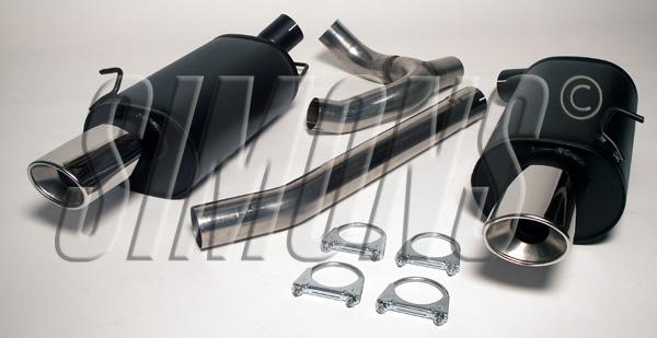 Bilde av Volvo 850/S70/V70 Turbo AWD-Simons Catback
