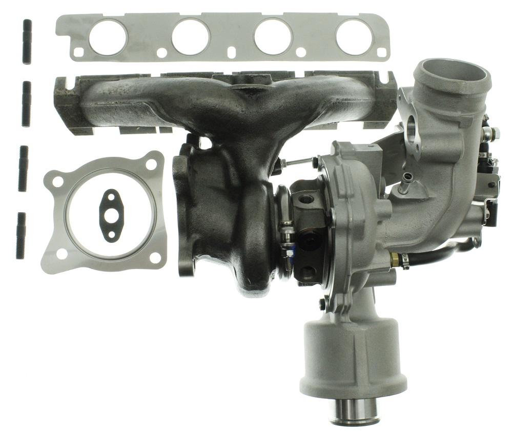 Bilde av TFSI langsliggende K04 upgrade turbo - 380 hp.